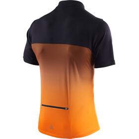 Löffler Flow Fahrrad Trikot Half-Zip Herren orange